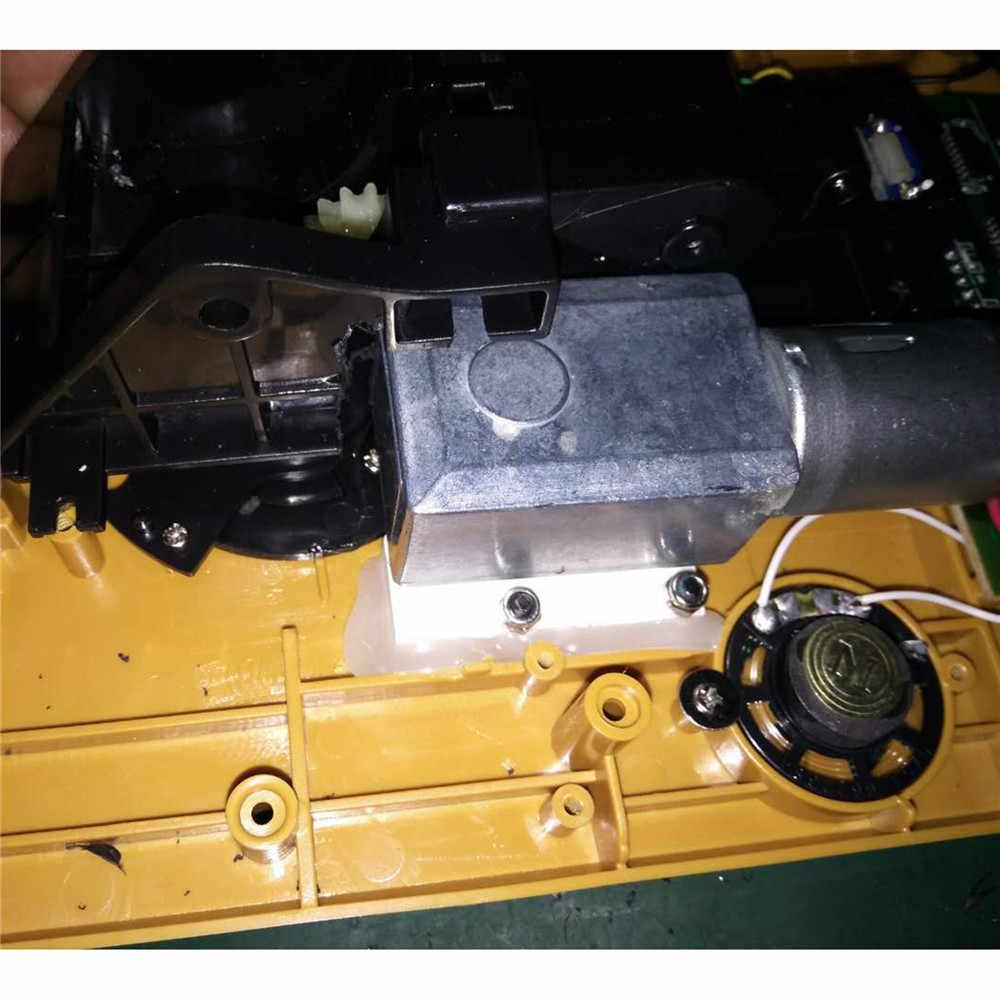 1 takım Metal rotasyon Motor telleri kiti HUINA oyuncaklar 15 kanal ekskavatör 550 350 510 yükseltme parçaları aksesuarları