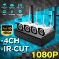H.264 HD 1080P 4CH Wireless NVR Kits 8MP WIFI Outdoor Ip kamera P2P CCTV HDMI Video Überwachung Sicherheit System alarm Kostenloser APP-in Überwachungskameras aus Sicherheit und Schutz bei