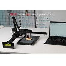NEJE Master 2 Plus grawer laserowy maszyna wycinarka laserowa CNC Router z 30W aktywowana głowica laserowa Off-line App do drewna z tworzywa sztucznego
