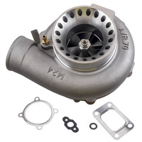 Anti Surge GT35 GT3582 Turbo Charger T3 AR.70/63 Compressor Turbocharger Bearing Turbine turbolader