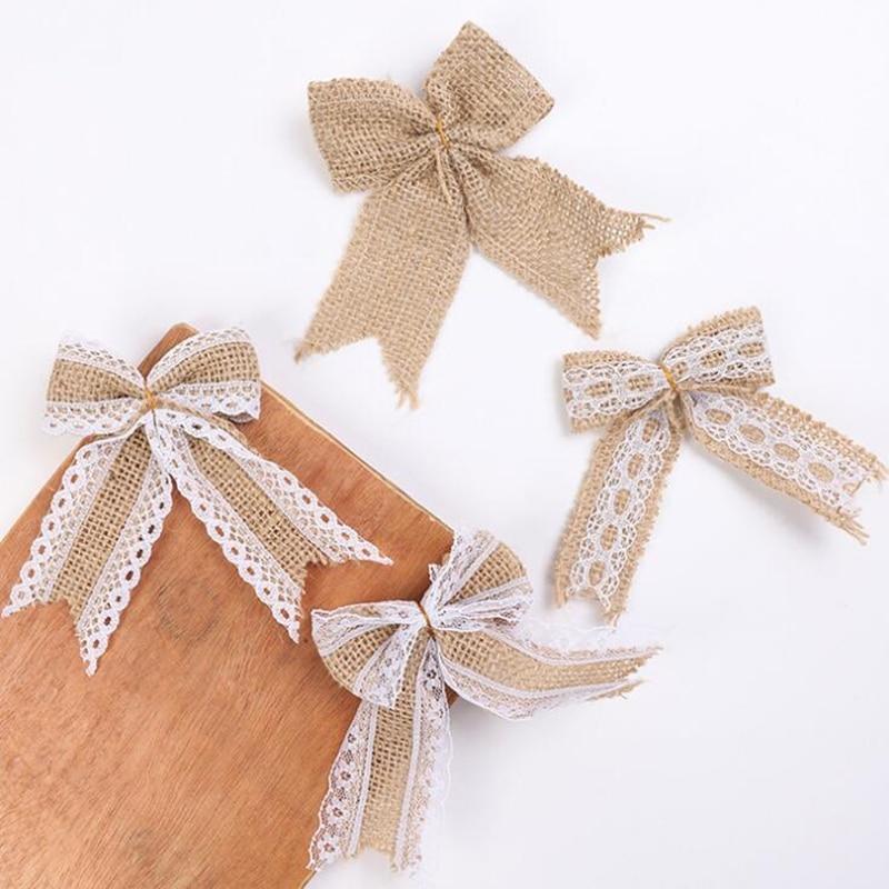 leinwand band geschenk verpacken hochzeit dekorative tasche warrping jute