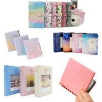 64/68/96 Pockets Book Album for Fujifilm Instax instant Mini 9 8 7s 70 25 50s 90 Mini Films 3 inch Photo paper