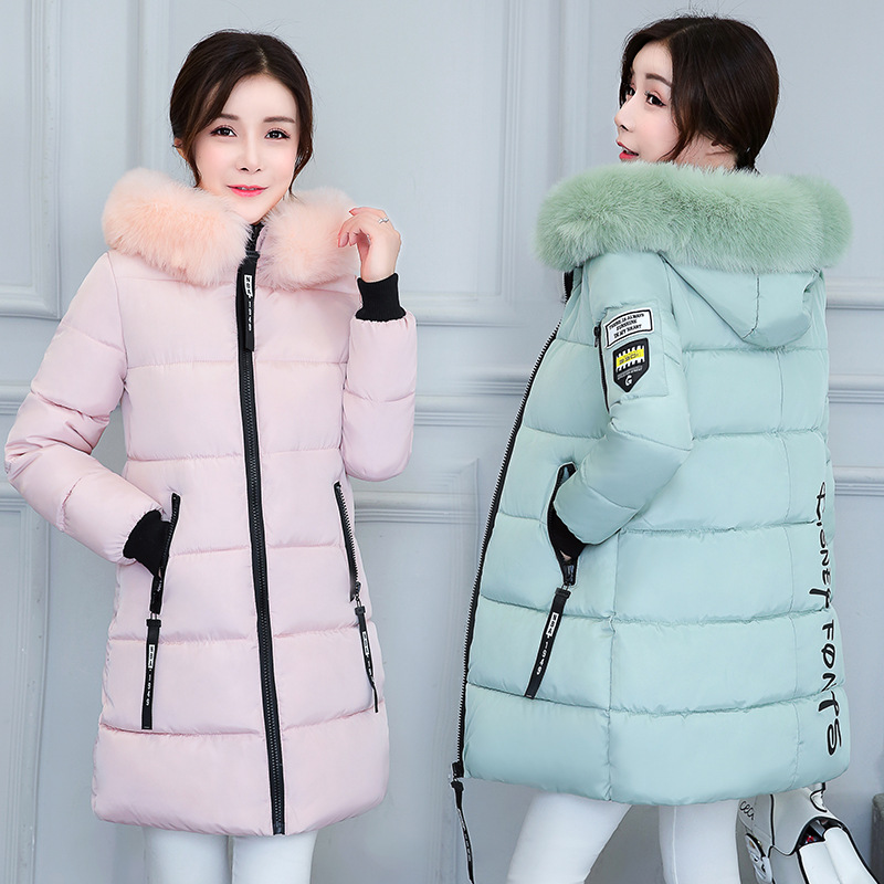 New Winter   Parkas   Women Female Outerwear   Parka   Thickening Cotton Winter Jacket Women Grils