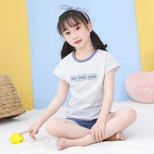 Pajamas Short-Sleeve Kids Cartoon Summer Girls Infantil for Boy Children