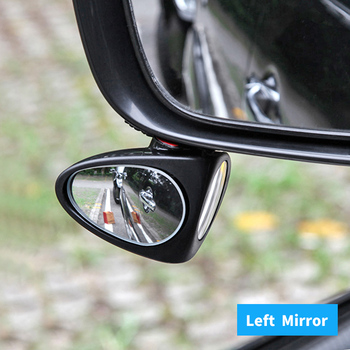 Car Vehicle Adjustable Left Rear View Blind Wheel Watching Sight Increase Visibility Mirror Accessories image
