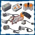 Teile ev3 gebäude block elektrische power motor funktionen werkzeug servo blöcke zug auto lkw PF modus