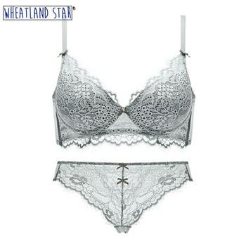 Lace Bra Panty Lingerie Feminina Sexy Hot Push Up Bra & Brief Sets Intimate Underwear Set Women Intimates Underwear & Sleepwears
