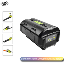 ZNTER 6000mAh 40V Li-ion Battery OP40401 OP4050A for Ryobi RY40502 RY40200 RY40400 Replacement Battery L70 цена 2017