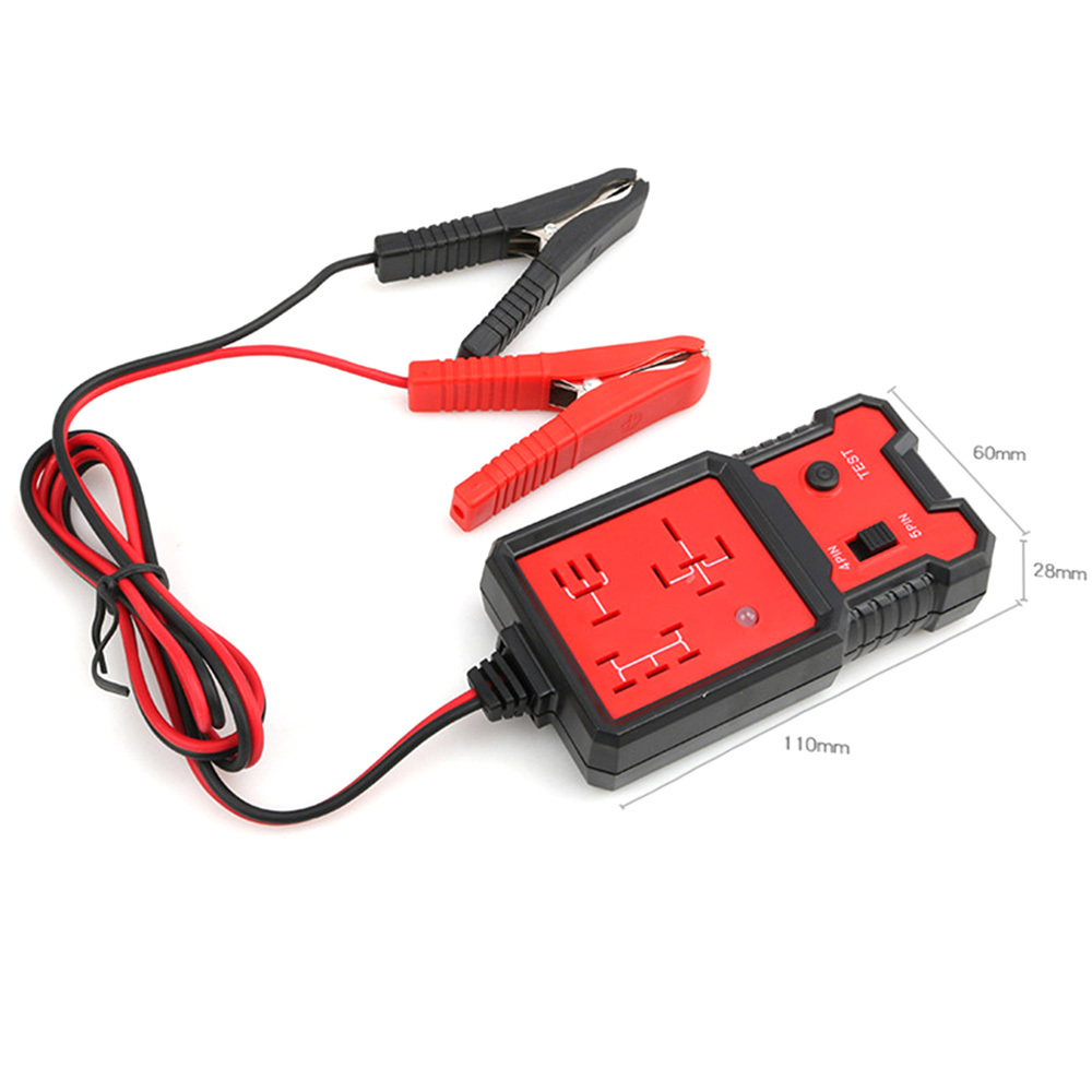 12V Car Relay Tester Relay Testing Tool Auto Battery Checker Accurate Diagnostic Tool Portable Automotive Parts