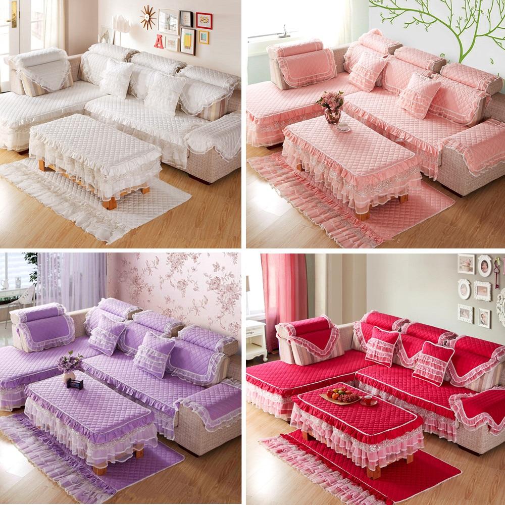 Luxury Cotton Sofa Cover Cushion Pillow