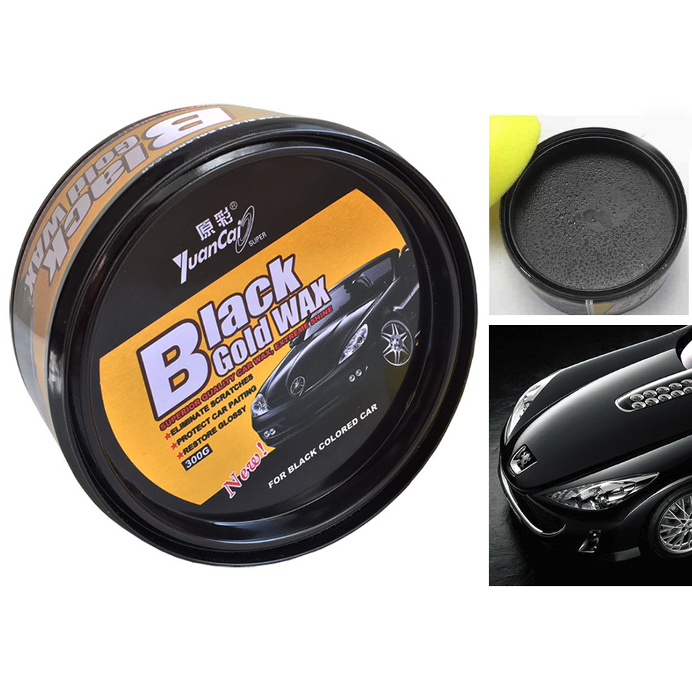 Car Black Solid Wax Care Waterproof Film Coating Hard Wax Paint Care Repair Scratch Stains Remover Stains Cleaning Artifact|Hard Wax| |  - title=