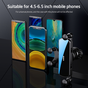Image 5 - ESR Car Gravity Phone Holder Gravity Stand For iPhone XIAOMI Huawei Mobile Phone Holder Universal  in Car Air Vent Clip Mount