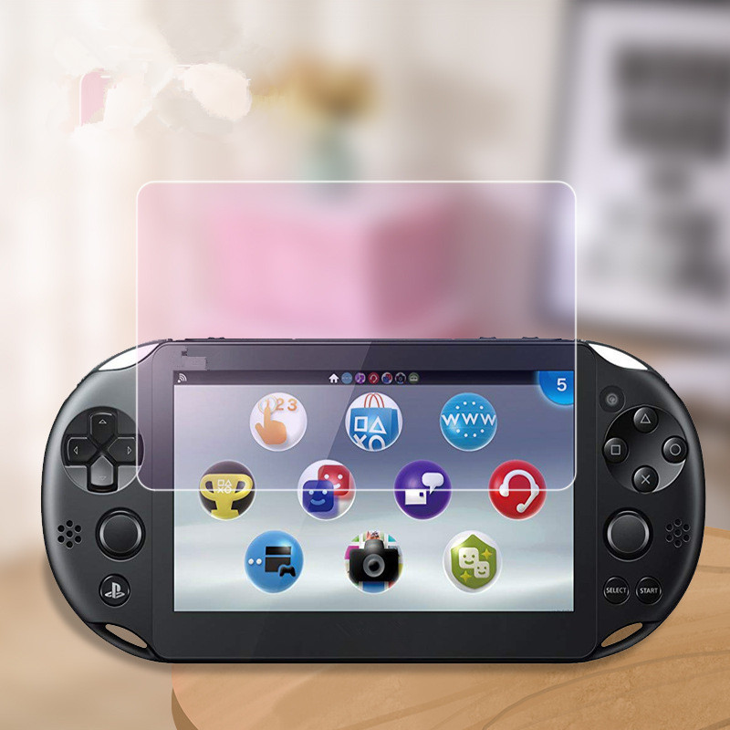 9H Explosion-proof Tempered Glass Protective For Sony <font><b>PS</b></font> <font><b>Vita</b></font> <font><b>2000</b></font> PSV2000 / <font><b>PS</b></font> <font><b>Vita</b></font> 1000 PSV1000 <font><b>Screen</b></font> Protector Film image