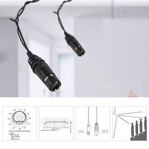Image 4 - XTUGA ميكروفون بمكثف قلبي الشكل ، MY 201 ، XLR 3 Pin 48V Phantom Power للتعليق ، للتحدث ، المسرح ، أوركسترا