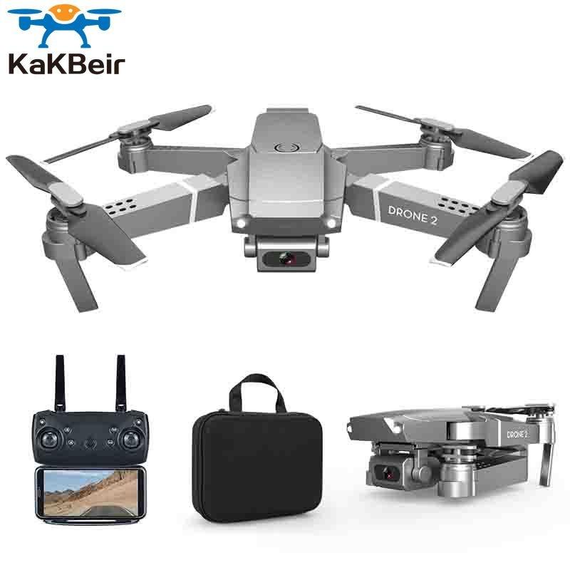 KaKBeir E68 drone HD wide angle 4K WIFI 1080P FPV drone video live recording Quadcopter height to maintain drone camera VS e58