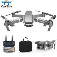 KaKBeir E68 drohne HD weitwinkel 4K WIFI 1080P FPV drone video live aufnahme Quadcopter höhe zu pflegen drone kamera VS e58