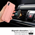 KISSCASE Solid Color Phone Cover For iPhone 6 7 8 X XS XR 7Plus 8Plus Fundas Capa Bracket Phone Case For iPhone XS MAX Capinhas
