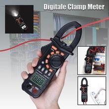 Цифровой мультиметр qhtitec тестер с зажимами true rms 1мА плоскогубцы