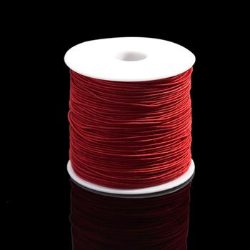 7m/bag 1mm Round Elastic Cord Beading Stretch Thread/String/Rope for Necklace Bracelet Jewelry Making Supply 10
