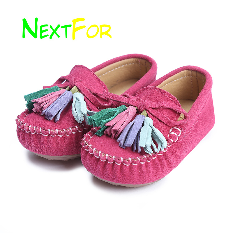 2019 Fashion Girls Loafers Slip On Casual Sneakers For Kids Children Walking Footwears Little Girls Loafers Cheap