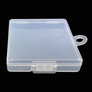 Image 4 - SD TF Transparent Memory Card Holder Component PP Packaging Box Plastic Environmental Protection PP Hook Box Memory Card Cases