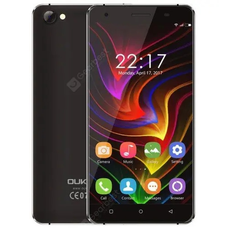 OUKITEL C5 SmartPhone 2GB RAM 16GB ROM 5.0 Inch Telephone MTK6737 Quad Core 1.3GHz Android 6.0 2000MAH WIFI GPS Mobile Phone