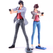 Creator X City Hunter Makimura Kaori /Saeba Ryo PVC Action Figure Collectible Model Toy