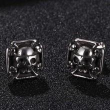 Punk Skull Men Earrings Ear Studs For Women Rock Stainless Steel Small Stud Earings Fashion Jewelry Gifts Drop shipping