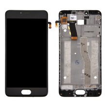 100% Original For Meizu M5 / Meilan 5 LCD Screen and Digitizer Full Assembly with Frame недорого