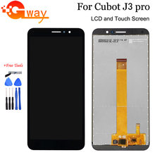 "For 5.5"" Cubot J3 Pro LCD Display and Touch Screen Digitizer Assembly For Cubot J3Pro Phone Replacement With Tools And Adhesive(China)"
