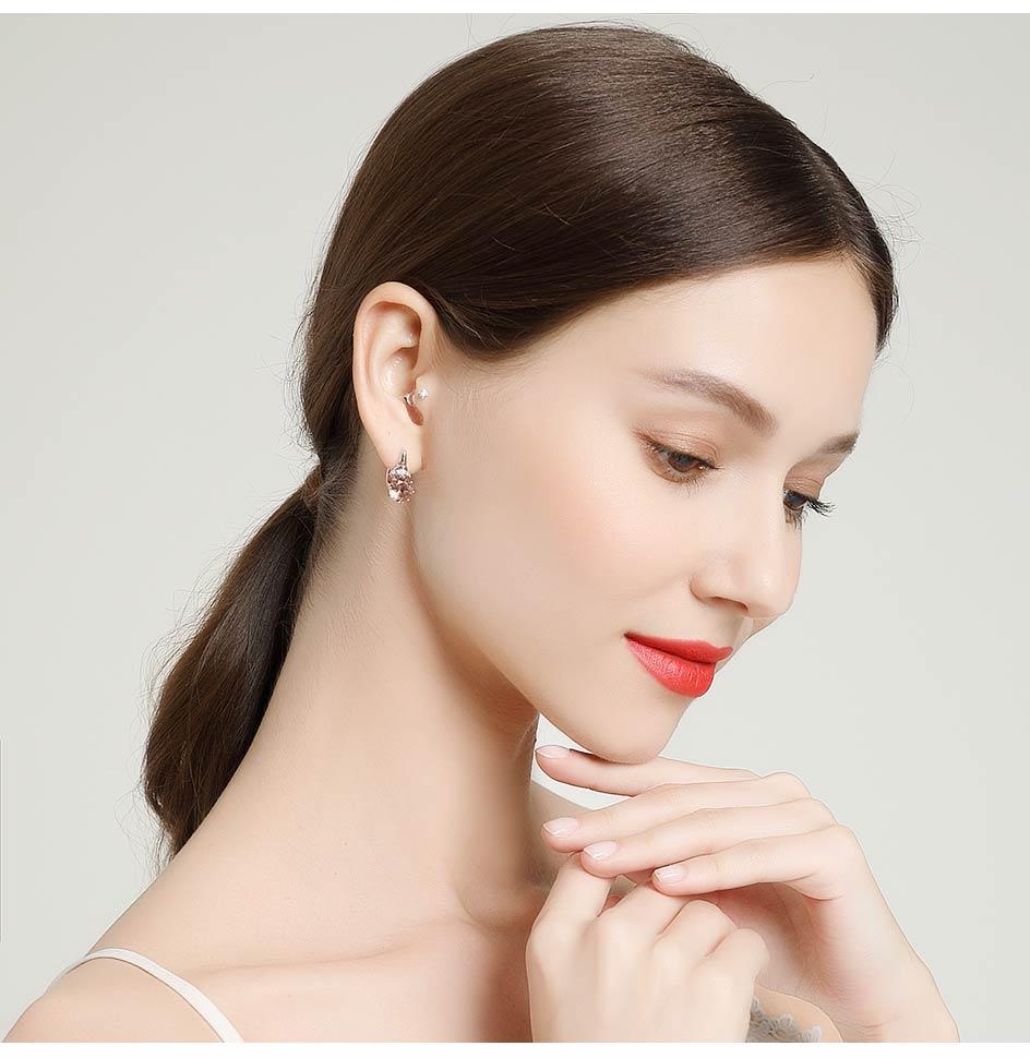 Kuololit Zultanite Gemstone Clip Earrings for Women Solid 925 Sterling Silver Color Change Diaspore Stone Earrings Fine Jewelry (12)