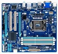 Used Original Gigabyte Desktop Motherboard LGA 1155 DDR3 32G B75 MATX Mainboard GA B75M D3H