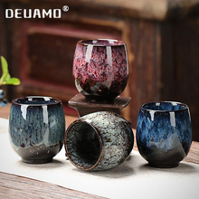 China Tea Cup Coffee mug Creative ceramic teacup tea set Oven Change Ceramic cups travel cup Home Tea Cups