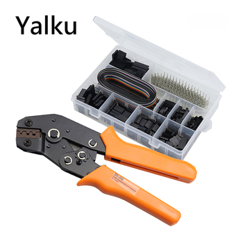 Yalku SN-28B+1550Pcs Crimping Pliers Set Tool Crimper Connector Dupont Cable Jumper Wire Pin Header Housing Pliers