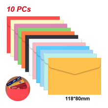 10pc /lot Candy color mini envelopes DIY Multifunction Craft Paper Envelope For Letter Paper Postcards School Material