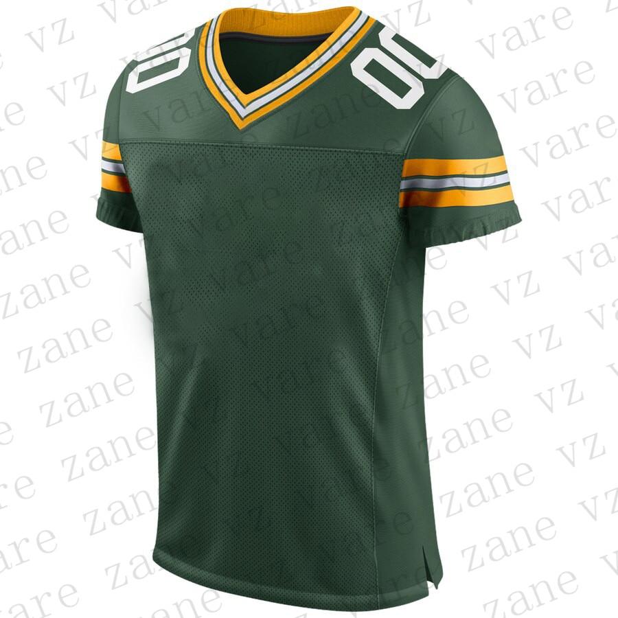 Customize Mens New American Football Jerseys Aaron Rodgers Aaron Jones Blake Martinez Jimmy Graham Cheap Green Jersey