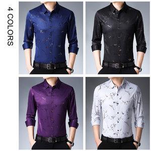 Image 4 - COODRONY מותג גברים חולצה ארוך שרוול כותנה חולצה גברים סתיו Mens מזדמן חולצות Streetwear אופנה עיצוב Camisa Masculina 96069