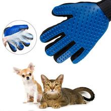 Włosy kota usuń rękawiczki rękawica do pielęgnacji kota skuteczny masaż grzebienie dla psów czyszczenie furminator rękawice dla kota tanie tanio Z tworzywa sztucznego cats 3 godzin Mesh + TPR