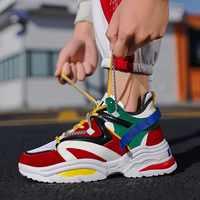 Zapatillas casuales transpirables para hombre, zapatillas de alta calidad para adultos, nueva tendencia, de moda, con cordones baratos, de Color a juego, Zapatilla