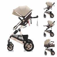 Tianrui Belecoo Wisesonle Baby kinderwagen Hohe landschaft warenkorb Tragbare Baby wagen 3 in 1 Baby wagen leicht