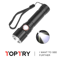 Led flashlight Ultra Bright torch T6 Camping light 3 switch