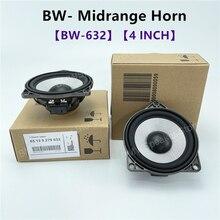 4 Inches BW Midrange Speaker Design For Center Dashboard For BMW F10 F11 F30 F32 G30 G20 Series Full Range Frequency Loudspeaker