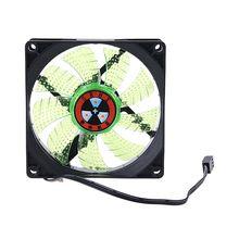 2021 New LED Light 3 pin 90mm PC Desktop Computer Case Cooling Cooler Fan Low Noise 9025