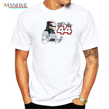 Lewis  44 Formula 1 Motor Man T-Shirt Men Cotton T Shirt Tops Tees hip hop Casual Short men t shirt
