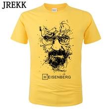 Unisex Short-Sleeve T-Shirt homme Heisenberg Breaking Funny Bad-Printed Fashion Cotton