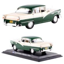 1:43 Classic Taxi (1955) Alloy Car Model Toy with display case Good quality and high simulation collected toys gifts цена 2017
