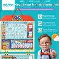 Mideer brinquedos de educação bebê magnético pendurado registro de comportamento placa de madeira segurança incentivar 3y + crianças em casa recompensas jogos