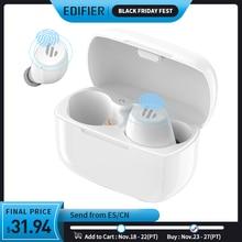 EDIFIER auriculares TWS inalámbricos por Bluetooth V5.0, dispositivo con control táctil, diseño ergonómico nominal IPX5