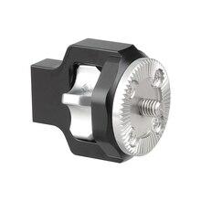Kayulin Standard ARRI Rosette M6 Verlängerung Montieren mit M6 gewinde schraube Für DSLR Kamera Käfig Holz Handgriff