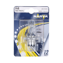 NARVA H4 12 V 60 55 W P43t  90 light range Power 90 blister card